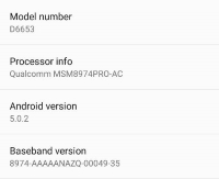 Sony Xperia Z3 Update in India
