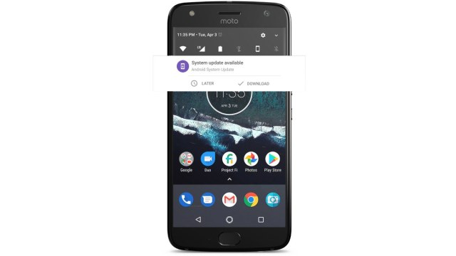 Moto X4 with Android One