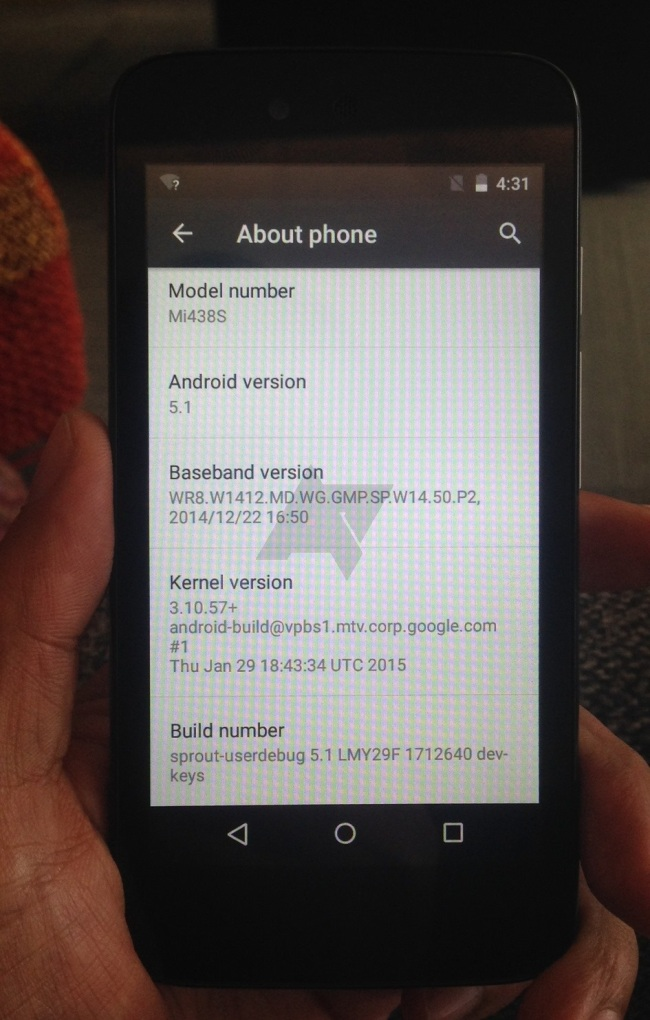 Android 5.1 on Nexian Journey