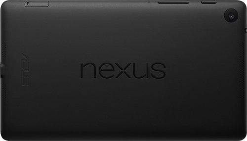 Google Nexus tablet back