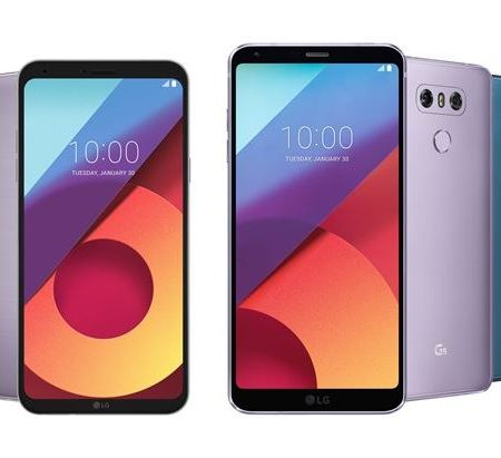 LG G6 and Q6 new colours