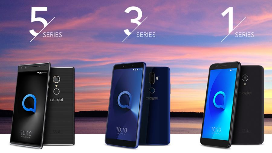Alcatel 1, 3 and 5 series