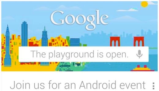 google-invite-october-29 event