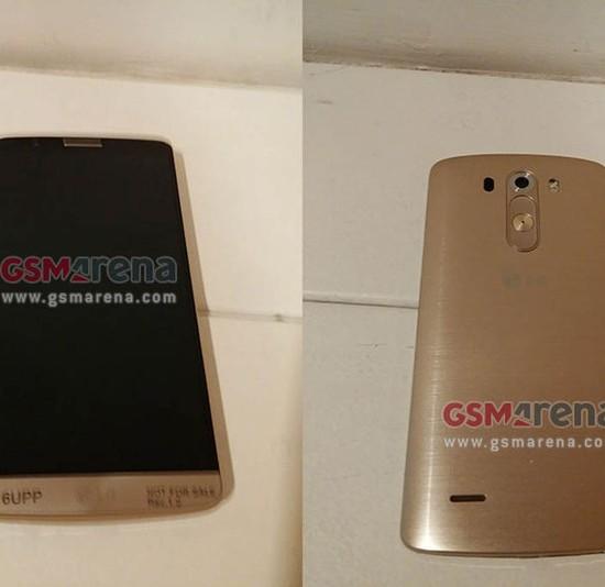 Golden LG G3 live image