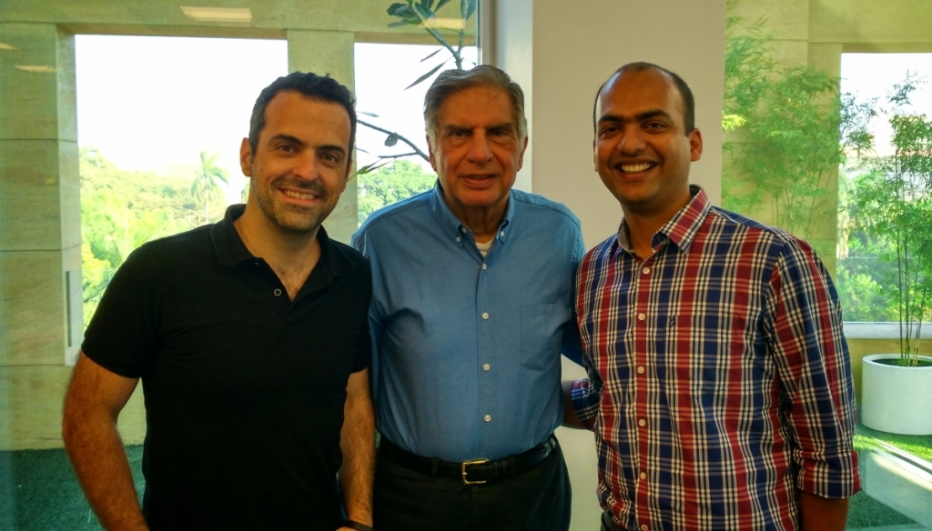 Ratan Tata with Xiaomi executives
