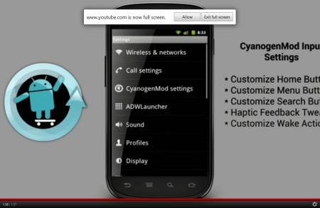 CyanogenMOD 9 Settings