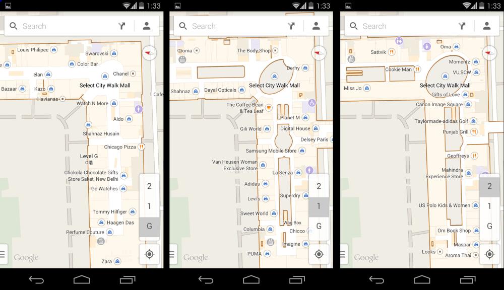 Indoor maps on Google Maps