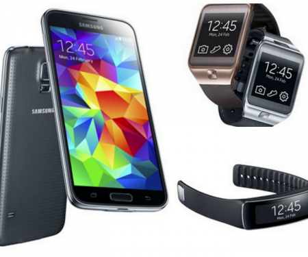 Samsung Galaxy S5, Gear devices