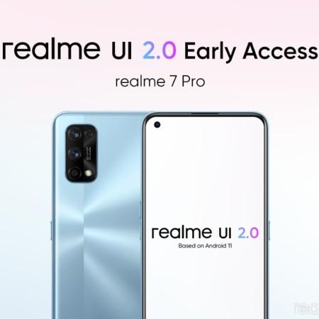 Realme 7 Pro update