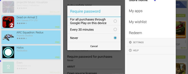 Google Play Store client