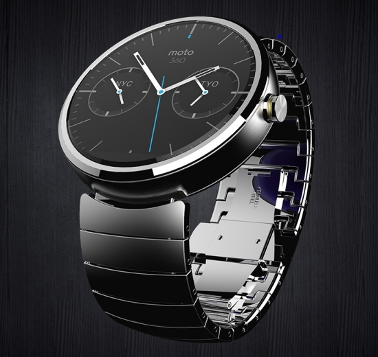 Moto 360 with Metal strap