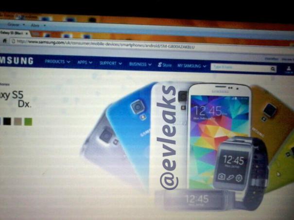 Samsung Galaxy S5 Dx leak