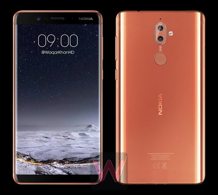 Nokia 9 mockup