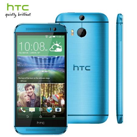 HTC One (M8) in Blue
