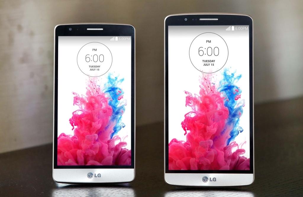 LG G3 Beat with LG G3