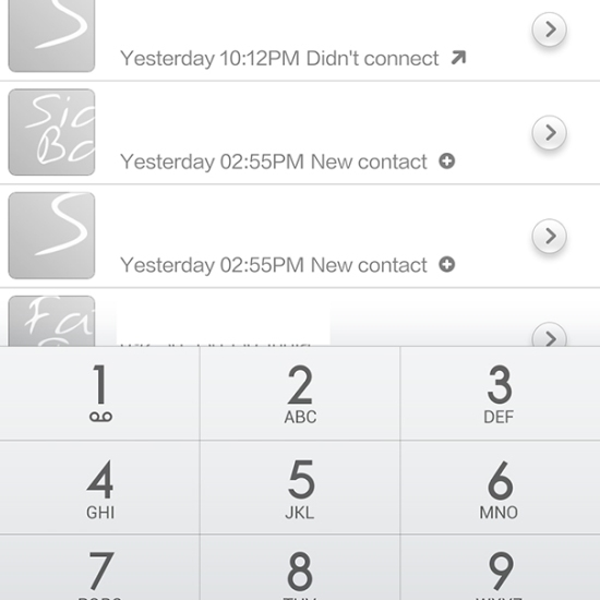 Xiaomi Mi 3 phone app