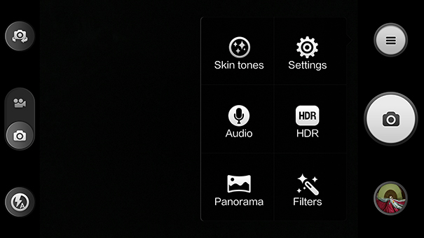 Xiaomi Mi 3 camera app