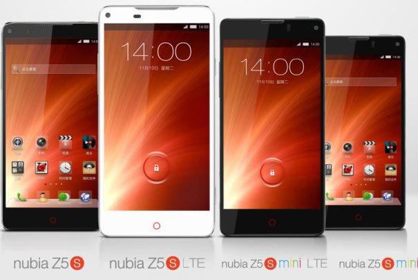 Nubia Z5S and Z5S mini