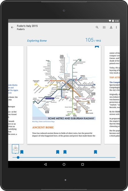 Google Play Books update
