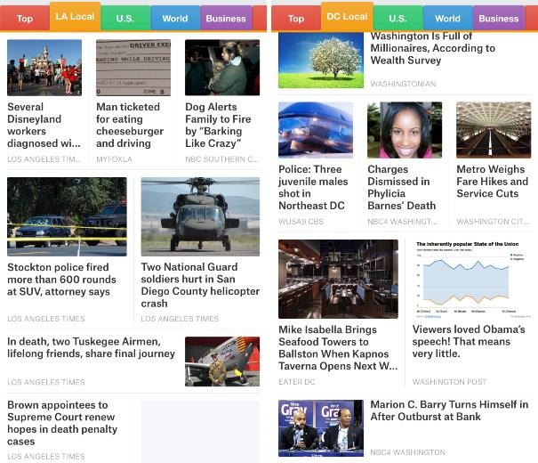 SmartNews Local channels