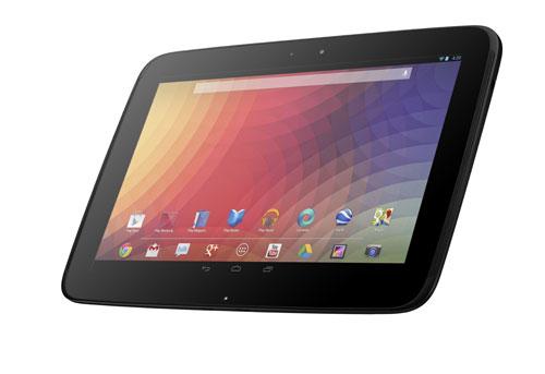 Original Nexus 10 tablet