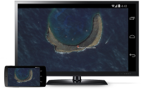 Android Device Mirroring via Chromecast
