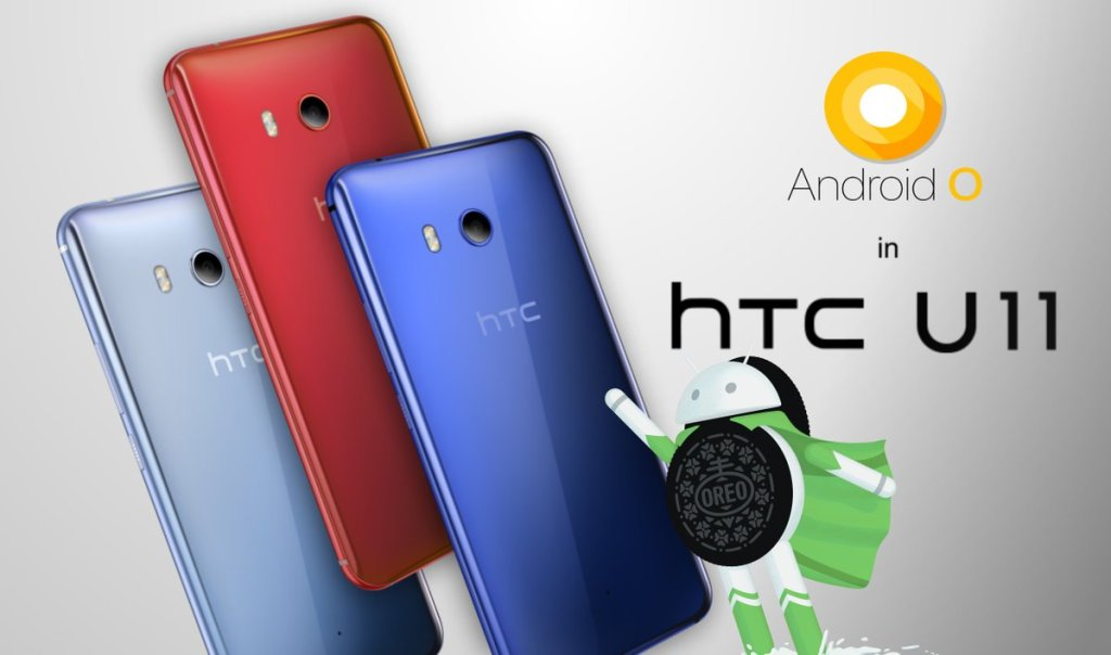 HTC U11 Oreo update in India