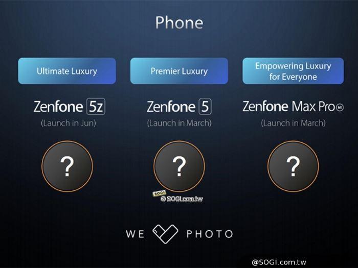 Asus 2018 phones