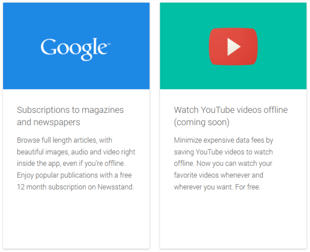 Offline Youtube and Paid Newsstand content