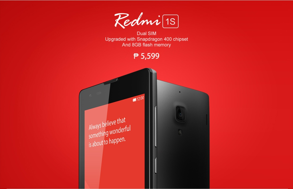 Redmi 1S Philippines