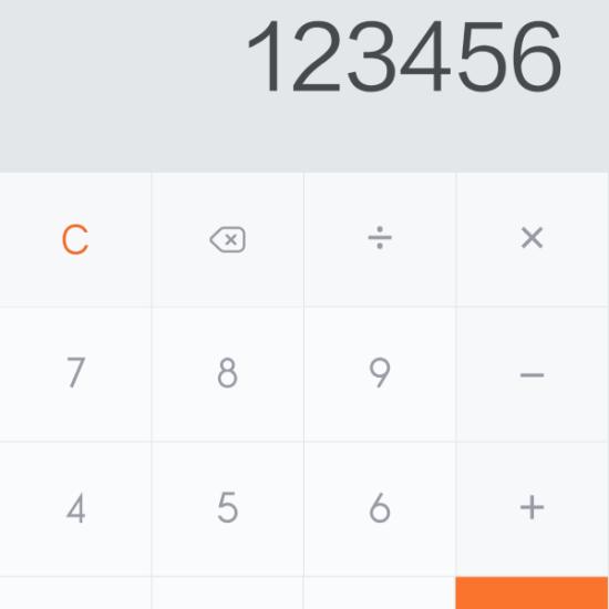 MIUI 6 Calculator