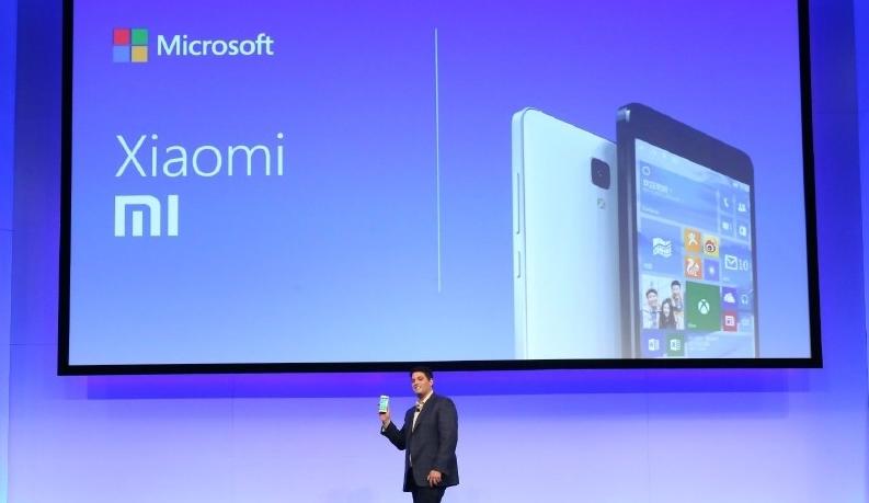 Xiaomi and Microsoft