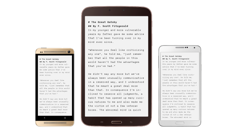 iA Writer for Android