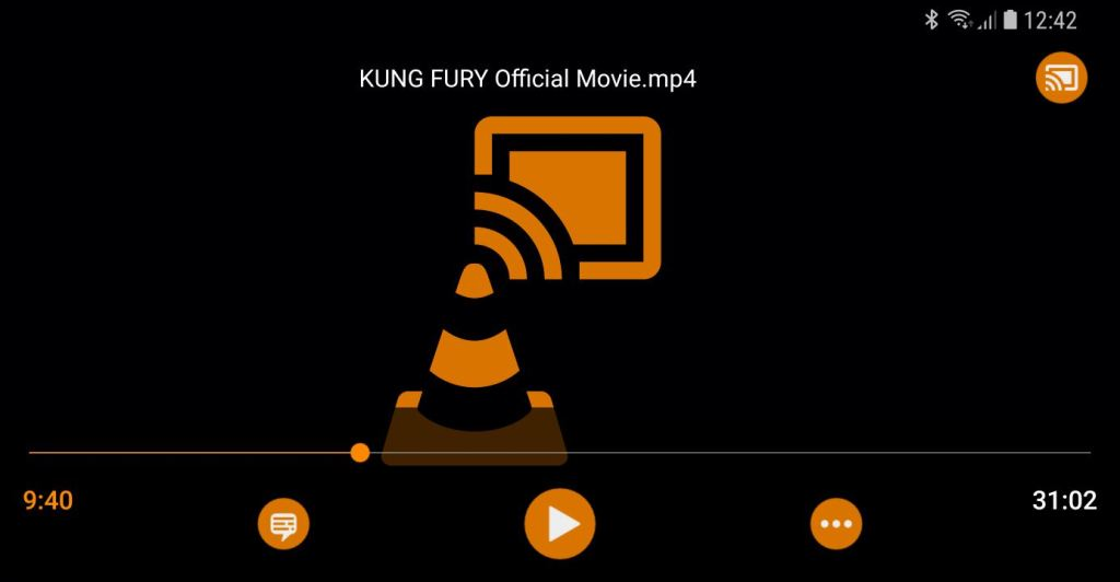 VLC for Android Chromecast support