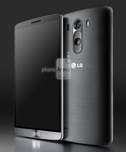 LG G3 in Grey-Black