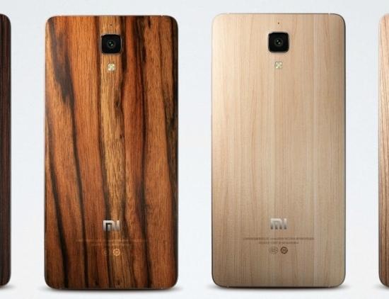Xiaomi Mi 4 back cover options
