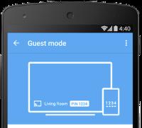 Chromecast Guest Mode