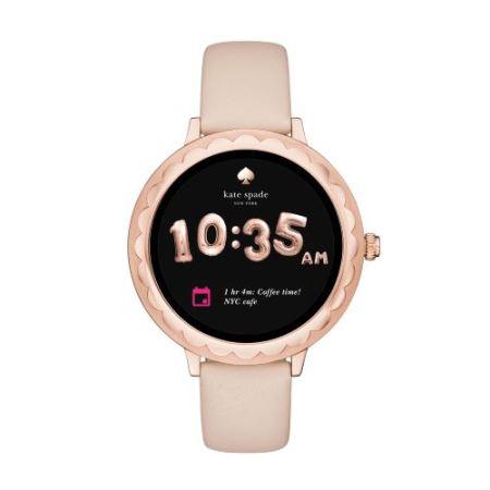 ate Spade New York Scallop Touchscreen Smartwatch