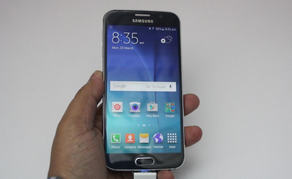 Samsung Galaxy S6 hands on