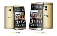 Amber Gold HTC One and One Max