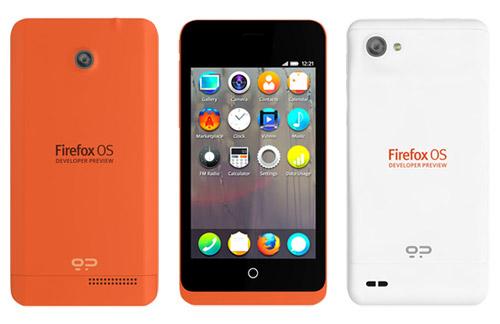 Firefox OS phone