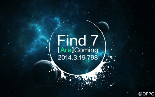 Oppo Find 7 launch event teaser