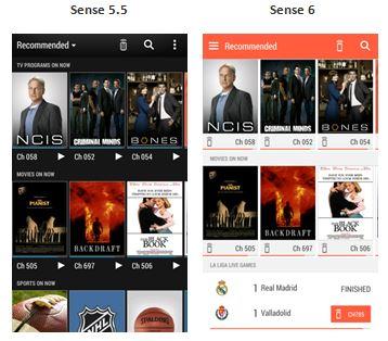 Sense TV in Sense 6.0