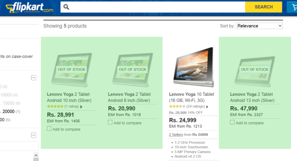 Lenovo Yoga 2 at Flipkart