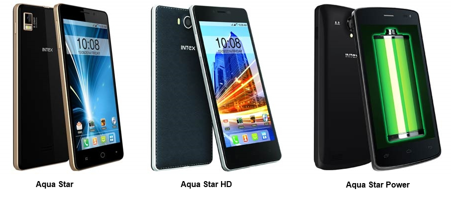 Intex Aqua Star series