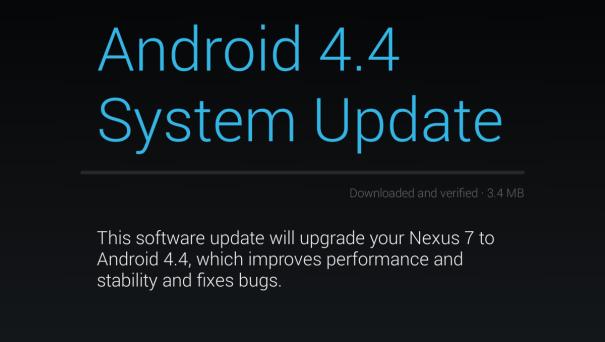 Nexus 7 KRT16S update