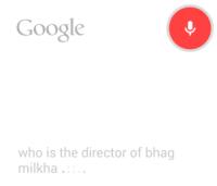 Google Voice Search India