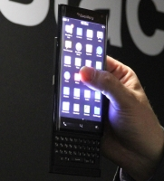 Unannounced BlackBerry Slider at MWC