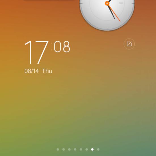 MIUI 6 Widgets