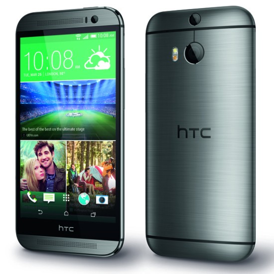 HTC One M8 in gray